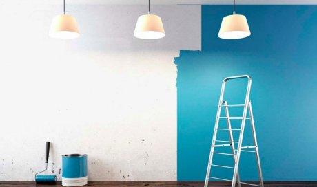 Mise en peinture à Agde