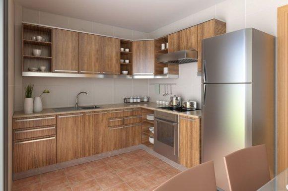 Société spécialisée dans la confection et la pose de meubles de cuisine sur-mesure dans un studio à Agde