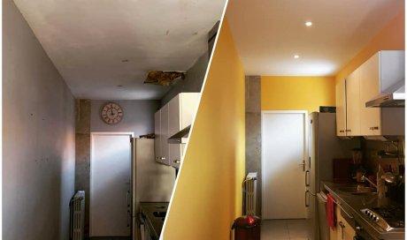 Entreprise pour la peinture intérieure d'une maison