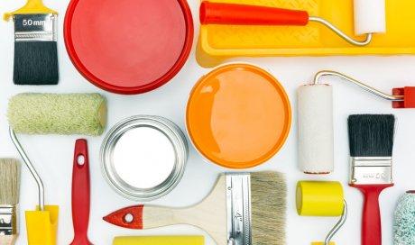 Entreprise professionnelle pour la réalisation de peinture décorative dans une chambre à Mauguio